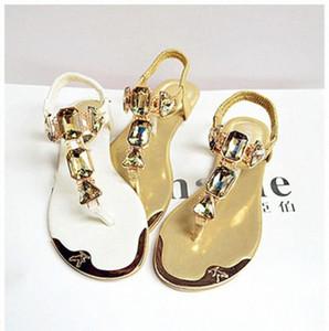 Padegao Femme Sandales 2020 Mode Haute Qualité Strass Femmes Flip Flip Chaussures Dames Casual Summer Beach Chaussures PDG752 I3EU #