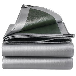 Shade 0.32mm PE Tarpaulin Rainproof Cloth Outdoor Garden Plant Shed Boat Car Truck Canopys Waterproof Shading Sail Pet Dog House Cover