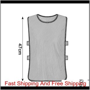 Team Training Scrimmage Vests Soccer Basketball Youth Adult Pinnies Jerseys New Sports Vest Breathable T qylqNj item_home