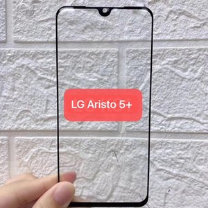 For LG ARISTO 5 PLUS K31 Velvet Full Cover Screen Protector 9H Hardness Bubble Free Anti Fingerprint Tempered Glass With Retail Package