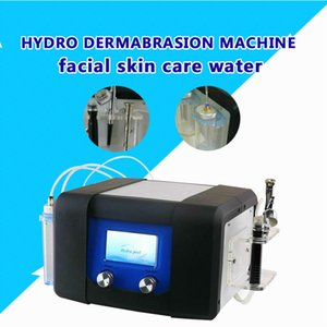 Dokunmatik ekran 3 1 Hydro Mikrodermabrazyon Oksijen Jet Oksijen Sprey Hydra Dermabrazyon Tedavi Cihazı