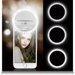 Selfie led anel flash lumiere portátil led liderança lâmpada de clipe de luz de telefone móvel para xr telefoon lente lumpka do telefonu