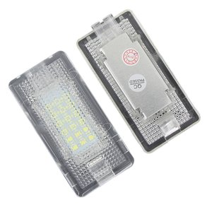 2Pcs Led Footwell Luggage Trunk Interior Light Glove Box Lamp No Error for BMW X5 E46 E39 E84 E90 E91 E92 E53 F10 F01 F02