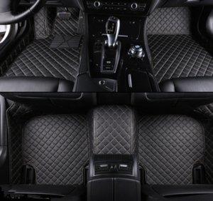 Cadillac için Özel Araba Paspaslar Tüm Modeller SRX CTS Escalade ATS CT6 XT5 CT6 ATSL XTS SLS Araba Aksesuarları Styling