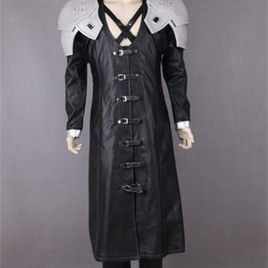 Final Fantasy VII Sephiroth Luxury Cosplay Costume For Women and Men Adult Size1