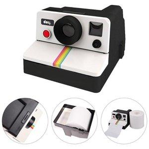 Tissue Boxes & Napkins 1PCS WC Box Creative Retro Polaroid Camera Shape Inspired Toilet Roll Paper Holder Home Bathroom Decor