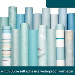 Wallpapers Solid Color Self Adhesive Waterproof Wallpaper Peel And Stick Wall Mural For Bedroom Living Room Decor Removable