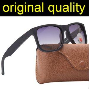 Top Quality 4165 Fashion Polarized Sunglasses Men Women Sunglasses Justin Nylon Frame Sun Glasses with Accessories