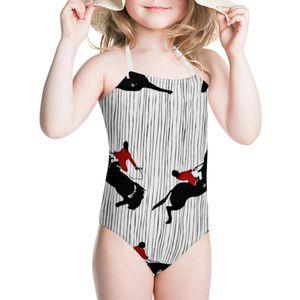 HYCOOL Streifen Reiten Reiten Rennen Print Kids One Piece Swimsuits Infant Kinder Schwimmanzug Teen Girls Swimwear Badeanzug Q0220