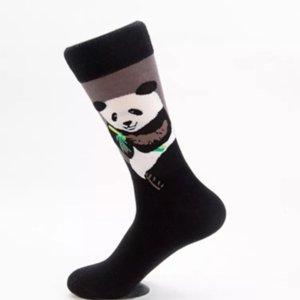 10 Pairs Panda Funny Animal Mens Colorful Cute Print China Socks Fun Novelty Patterned Crazy Design Sock Great Gifts Chengdu Wildlife Zoo