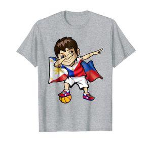 Dabbing Basketball Boy Philippines Pinoy Jersey Dab T Shirt