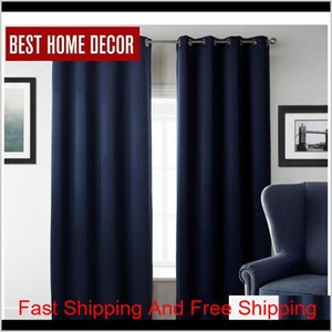 New Modern Blackout Curtains For Window Treatment Blinds Finished Drapes Window Blackout Curtain For Living Room Th Jllmot C9Mzm Ccfan