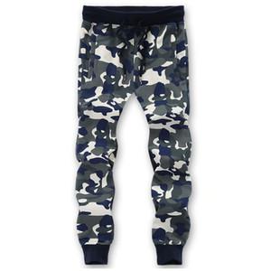 2021 New YDTMM Automn Plus Taille 6XL 8XL Camouflage Santé pantalon de survêtement Militaire Casual Cordon Cordon Elastic Taille Homme Hommes Pantalons M1D