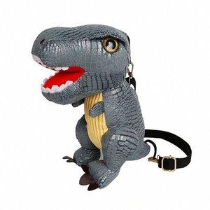 2019 New Dinosaur Kids School Bags For Boys Kindergarten School Backpacks For Girls Creative Animals Kids Bag Mochila Infantil g0Om#