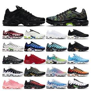 air max tn plus  и женщин Oreo REFRACT True Pink мужские кроссовки дышащие спортивные кроссовки размер Eur 36-45