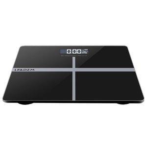 """180kg / 50g 11 """"Pesagem Pesca Bathroom Scale Blacksilver"""