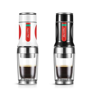 Manual Coffee Grinders Barsetto Tripresso Portable Maker Espresso Machine Hand Press Ground Brewer For Travel And Picnic