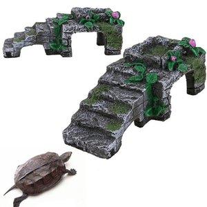 decoration, reptile platform, resin turtle, climbing, water tank, aquarium, Aquarium