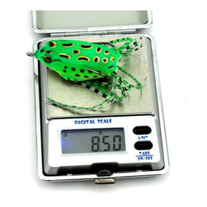 Soft Lifelike Scum Ray Frogs Fishing Lures 8.2g 5.5cm 5colors Plastic Artificial Lur jllwYF xmhyard