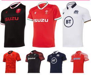 Toptan 2021 Galler İskoçya Rugby Jersey 20 21 Eve Dight Galce İskoç Gömlek Maillot Camiseta Maglia Size S-5X