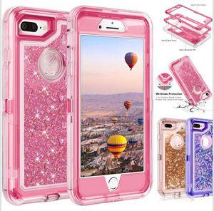 Bling Crystal Liquid Glitter Proteger Designer Case Case Robô à prova de choque não-impermeável tampa traseira para o novo iphone 12 Nota 20