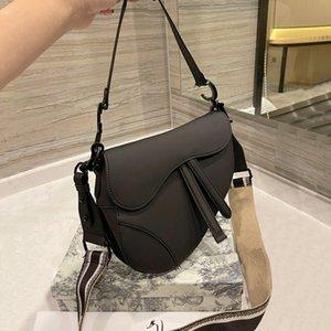 Top quality Luxurys Designers bag Women Fashion Leather Saddle Pochette handbags female Crossbody handbag shoulder Phone Vintage bags Purse 2021 with Box