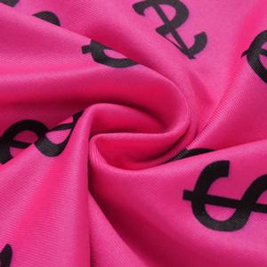 편지 인쇄 꽉 레깅스 여성 높은 허리 스텝 발 바지 바디 콘 운동 피트니스 여성 운동복 ZD2056