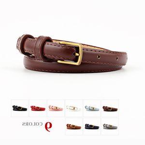 Fashion Hot Sale Women Pu Leather Belts for Ladies Girls 2021 High Quality Female Luxury Belt Thin Ny Waist Strap