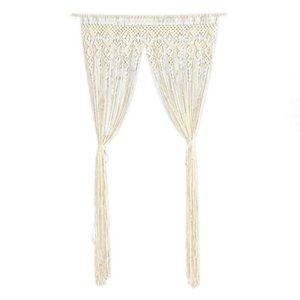 Blinds Curtains For Living Room Window Hanging Blackout Wall Curtain Boho Door Tapestry Decor Home Ornament Bedroom