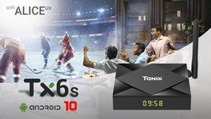 TX6S TV Box Android 10.0 H616 4GB 64GB 2.4G 5G WiFi BT Set Top Box
