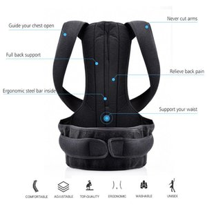 Magnetic Therapy Posture Corrector Brace Shoulder Back Support Belt for Braces & Supports Belt Shoulder Posture Correction