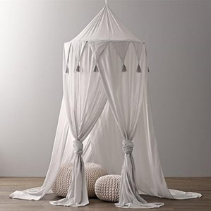 Baby Bedroom Mosquito Net Canopy Bedcover Girls Room Fairy Curtain Bedding Dome Tent Room Decor Canopy Netting Bed Tent zyy612