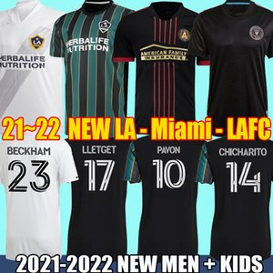 MLS 21 22 LA Galaxy Fußballtrikots LOS ANGELES Atlanta United FC Fußballtrikots 2021 2022 Inter Miami CF CHICHARITO PAVON MÄNNER KINDER Higuain