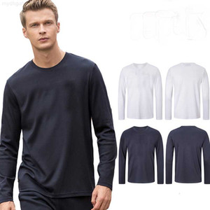 Shirt 100% Cotton Hip Mens Hop Vintage Spring Autumn Style Man TShirts Fashion Summer O Neck Men's Long Sleeve T
