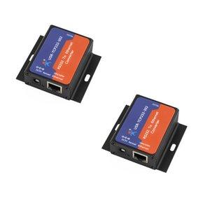 2 adet Otomasyon Kontrolü USR-TCP232-302 Seri RS232 Ethernet TCP IP Sunucu Modülü Dönüştürücü Dahili Webaj DHCP / DNS Desteği