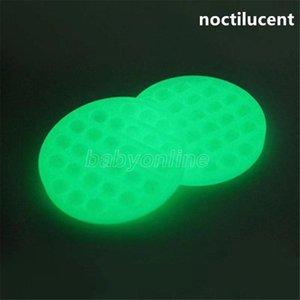 Noctilucent Push Popit Bubble Sensory Fidget Toy Autism Squishy Stress Reliever Toys Adult Kid Unicorn Pop it Fidget Toys Fast Shipping