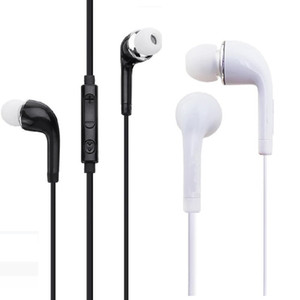 J5 S4 em fones de ouvido Fones de ouvido 3.5mm com fones de ouvido de controle de volume remoto de microfone para Samsung Galaxy S3 S4 S5 Nota 2 4 MP3