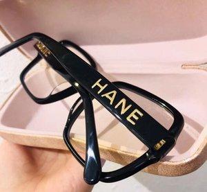 Fashion designed All-match Women Big-square Plain Glasses Plank Frame 56-17-140 for anti-blue ray prescription myopia eyewear fullset case