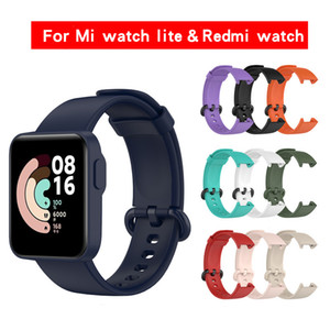 Sport Smart Watch Strap Silicone Replacement Watch Band For Women Wrist Strap For Xiaomi Redmi Mi Watch Lite wholesale