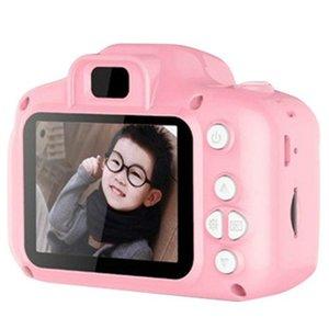 كاميرات الفيديو مصغرة الكاميرا الرقمية 2 بوصة الكرتون لطيف لعب الأطفال هدية عيد الطفل المحمولة