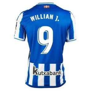 Real Sociedad de fútbol Jerseys 20/21 Copa del Rey Willian J. Silva Oyarzabal Jersey de fútbol Zubeldia Merino Isak Camiseta de Txuri-Urdin Man