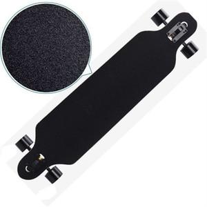 Papier de sable Papier Sablier Papier de skateboard Noir Professionnel Papier de verre pour patinage Panneau Longboarding Emery Road 39 x2