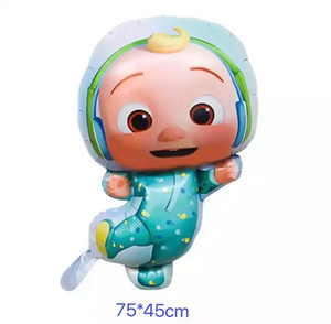 Cocomelon JJ Foil Balloon Party Supplies Birthday Decoration Latex Balloon Kids Toy Balloon Baby Shower L0220