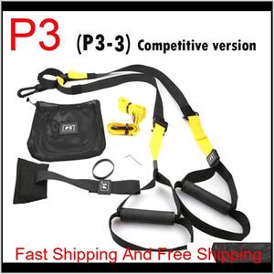 Hot Sale Resistance Bands Crossfit Equipment Strength Hanging Training Strap Fitness Exerciser Workout Suspension Trainer Belt B88Fo F3Yo5