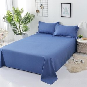 Sheets & Sets Cotton Bed Sheet Supplies Queen Size For Flat