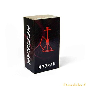Arabian hookah medium metal glass hookah double tube household shisha pipe hookah