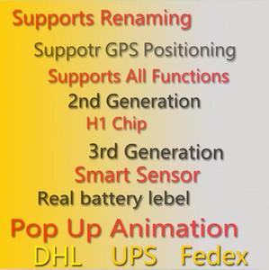 Écouteurs Air Gen 3 AP3 Gen 3 H1 Charnière Métal Charge sans fil Chargement sans fil Bluetooth Casque Bluetooth Pods Pro AP2 2nd Generation Edrombs UPS DHL FedEx