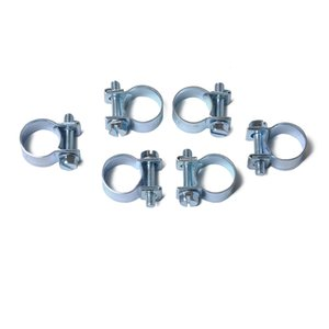 Auto Parts Set of 10-100 pcs mini 7-18MM fuel pipe hose clamp air water clamp