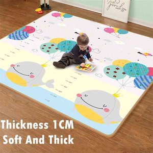 Thicken 1cm Xpe Cartoon Baby Play Mat Puzzle Children's Climbing Pad Kids Rug Games s Toys for Children 210915