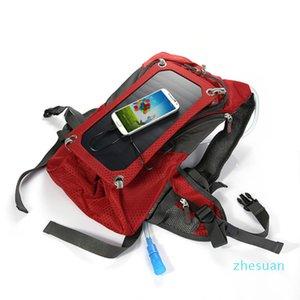 Solar Charging Bag Blue & Red Cable Water Bag Solar Backpack Solar Back Pack 6.5W Camel Bag eotw